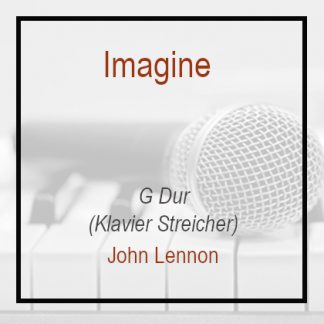 Imagine Klavierversion