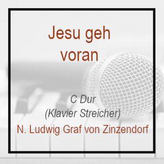 Jesu geh voran Klavierversion