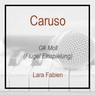 Caruso G#moll Lara Fabien Klavierversion